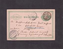 1897. Carte Postale Empire Du Japon Pour Eiserfeld (D) - Tokio
