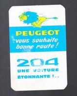 Calendrier 1966  204 PEUGEOT (PPP24097) - Petit Format : 1961-70