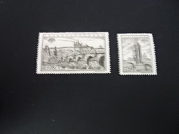 K40432  -  Set MNH  Ceskoslovensko 1955 - Int. Stamp Exhibition - Praga - Ungebraucht