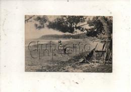 Le Lavandou (83) : La Plage Du Layet à  Cavalière Env 1920 (animé) PF. - Le Lavandou