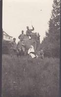 BUTTRIO (UDINE)  CARTOLINA - FOTOGRAFIA MILITARE E CORE ROSSA ITALIANA - VILLA FLORIO - ANNO. 1917 - Udine