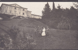 BUTTRIO (UDINE)  CARTOLINA - FOTOGRAFIA MILITARE E CORE ROSSA ITALIANA - VILLA FLORIO - ANNO. 1916 - Udine