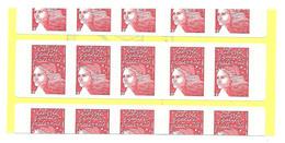 CARNET SAGEM MARIANNE De LUQUET 3085a C3 DECOUPE DECALEE - Definitives