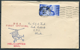 1948 GB BEA Helicopter Flight Cover. Great Yarmouth - Covers & Documents