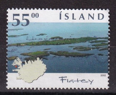 Iceland 2002, Minr 1021 Vfu. - Oblitérés