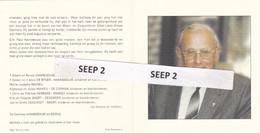 DP+foto Eerw. Hr. Paul HANNEBOUW Poperinge 1924-2007 Ieper (St Bavo Lauwe, Directeur VTI Poperinge) - Religion &  Esoterik
