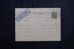 TUNISIE - Entier Postal Par Avion De Tunis Pour Paris En 1942 - L 72385 - Covers & Documents