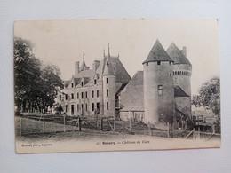 TN- 36- SCOURY- Château De Cors - Autres Communes