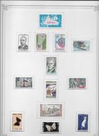 Andorre - Collection Vendue Page Par Page - Timbres Neufs * Avec Charnière - TB - Collections