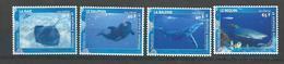 "Polynésie YT 824 à 827 "" Faune Marine "" 2008 Neuf** - Nuovi"