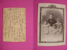 Famille Royale De Belgique CPA Manuscrite Ayant Voyagée à Destination De OUSSOY (LOIRET) (3 Photos) - Royal Families