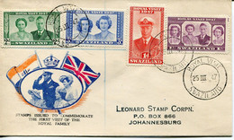 Swaziland Mi# 44-7 Used On Letter - Royal Visit Day Of Arrival - Swaziland (...-1967)