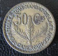 Cameroun - Monnaie 50 Centimes 1924 - Territoire Sous Mandat De La France - Cameroon