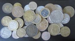 Monaco - Lot De 32 Monnaies Modernes (vrac) Entre 1924 Et 1996 - 50 Centimes à 100 Francs - Monaco