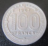 Etats De L'Afrique Equatoriale - Monnaie 100 Francs 1967 - Colonies
