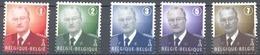 3695/99** Koning Albert II / Roi Albert 2 MNH** 2007 - Ungebraucht