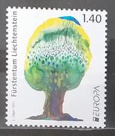 Liechtenstein 2011 - Europa - Forests - Tree - MNH As Scan - 1 Stamp - Unused Stamps