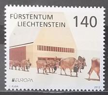 Liechtenstein 2012 - Europa - Tourism - MNH As Scan - 1 Stamp - Unused Stamps