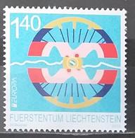 Liechtenstein 2013 - Europa - Post Offices - MNH As Scan - 1 Stamp - Unused Stamps
