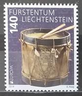Liechtenstein 2014 - Europa - Musical Instruments - MNH As Scan - 1 Stamp - Unused Stamps