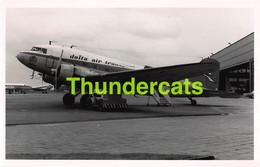 ANCIENNE PHOTO AVIATION AVION AIRPLANE PLANE 14 CM X 9 CM DELTA AIR TRANSPORT - Aviazione