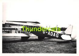 ANCIENNE PHOTO AVIATION AVION AIRPLANE PLANE 15 CM X 10 CM  HAVILLAND KNOKKE HILLMAN'S - Luftfahrt