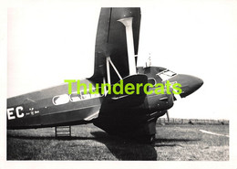 ANCIENNE PHOTO AVIATION AVION AIRPLANE PLANE 15 CM X 10 CM HILLMAN'S AIRWAYS KNOKKE 1935 - Luftfahrt