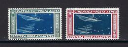 ⭐ Cirenaica - Italie - Poste Aérienne - YT N° 18 Et 19 * - Neuf Avec Charnière - TB - 1933 ⭐ - Cirenaica