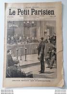 1899 L'AFFAIRE DREYFUS  LE PROCÈS À RENNES - INTERROGATION - PRISON MILITAIRE - Zeitschriften - Vor 1900