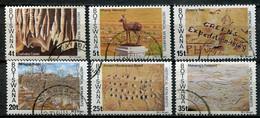 Botswana Mi# 187-92 Gestempelt/used - Historical Monuments - Botswana (1966-...)