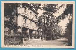 LA BAULE - Hôtel LUTETIA - Avenue Des Evens - La Baule-Escoublac