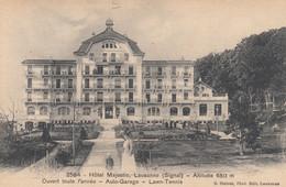 LAUSANNE, Switzerland, 1900-10s; Hotel Majestic - VD Vaud