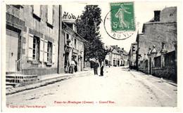 23 FAUX-la-MONTAGNE - Grand'Rue - Sonstige Gemeinden