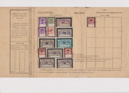 TIMBRES FRANCE MERSON M COTISATIONS  ASSURANCES  SOCIALES 1932 - Briefe U. Dokumente
