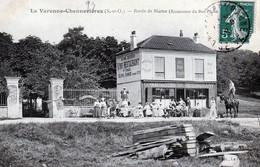 LA VARENNE-CHENNEVIERES (S. Et O.) Bords De Marne (restaurant Du Bon Pêcheur (Animation, Homme Debout Sur Son Cheval) - Saint Maur Des Fosses