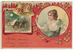 ART NOUVEAU Femme Cloches 1904     ..G - Women
