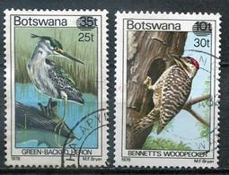 Botswana Mi#  281-2 Gestempelt/used - Fauna Birds - Botswana (1966-...)