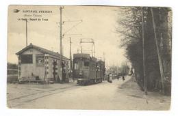 E464 - SAINT PAUL D'EYJEAUX - La Gare - Départ Du Tram - BEAU PLAN - A VOIR - 1919 - Sonstige Gemeinden