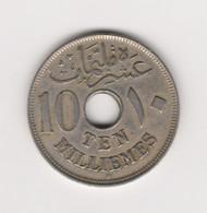 10 MILLIEMES 1917 HUSSEIN KAMAL - Aegypten