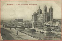 -  13   -  MARSEILLE  - Canal Saint - Jean  Et  La  Cathédrale . - Sonstige