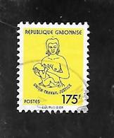 TIMBRE OBLITERE DU GABON NON REPERTORIE - Gabón (1960-...)