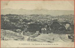-  13   -  MARSEILLE  -  Vue  Générale  Du  Roucas  Blanc  Et  Des  Iles . - Endoume, Roucas, Corniche, Strände
