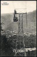 Italy / Italia: Bozen-Kohlern, Schwebebahn  1914 - Bolzano (Bozen)