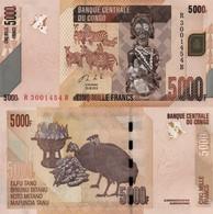 CONGO D.R. 5000 Francs 30.06. 2013 P 102 B UNC - Congo
