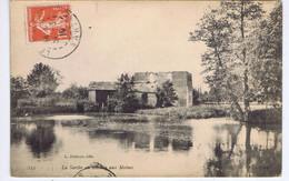 SARTHE - La Sarthe Au Moulin Aux MOINES - Watermolens