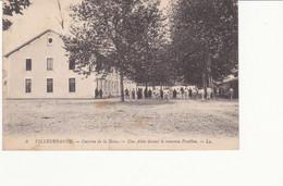 Cartolina - Villeurbanne, Caserne. Timbro Posta Militare. - Non Classés