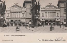 N°5961 R -cpa Stéréoscopique -Rome- Théâtre Dramatique National- - Estereoscópicas