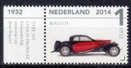 Nederland - Klassiekers - Louwman Museum - Bugatti 1932 - Postfris/MNH - NVPH 3159 - Coches