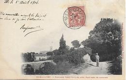 66)    ILLE Sur  TET  -  Fontaine Saint Jacques Avec Ille Dans Le Lointain - Altri Comuni