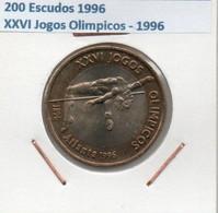 1996 Portugal 200 Escudos 1996 XXVI Jeux Olympiques 1996 - Portugal